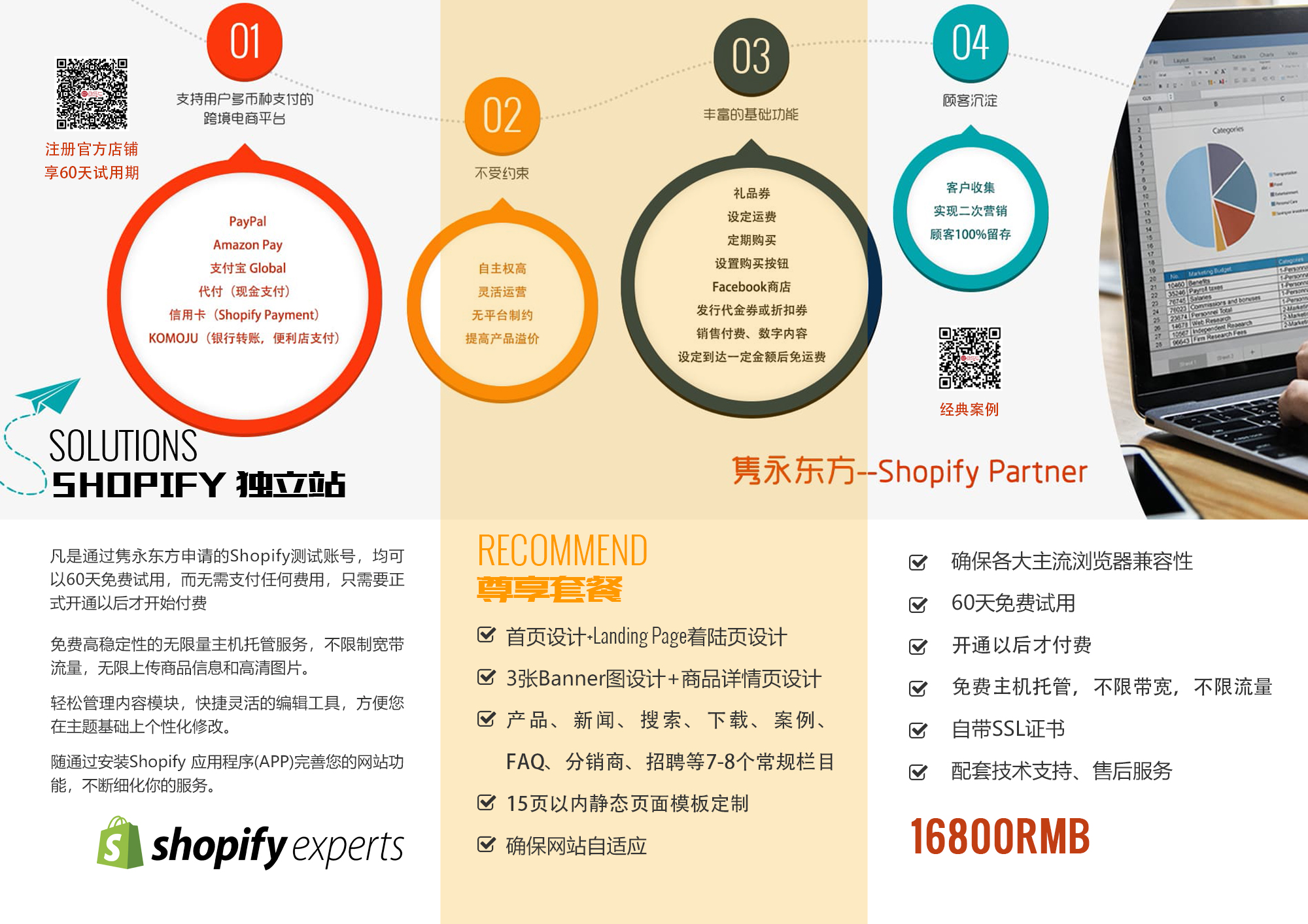 隽永东方 Shopify独立站 16800
